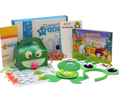 Froggy Fun Craft Box for Ages 2-4- Curiosity-Box-Craft-and-Educational-Boxes-Kids-Monthly-Subscription-Box