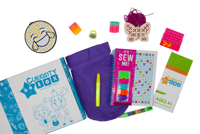 It's Sew Me Craft Box for Ages 8+- Curiosity-Box-Craft-and-Educational-Boxes-Kids-Monthly-Subscription-Box