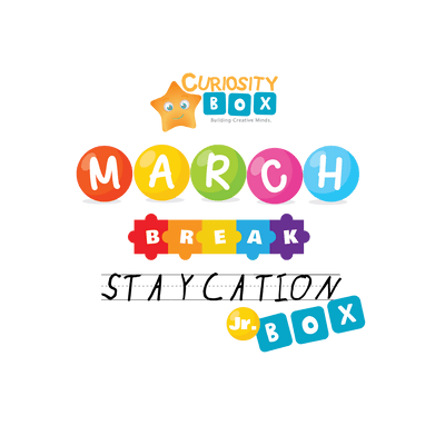 Jr March Break Staycation Box Ages 2-6- Curiosity-Box-Craft-and-Educational-Boxes-Kids-Monthly-Subscription-Box