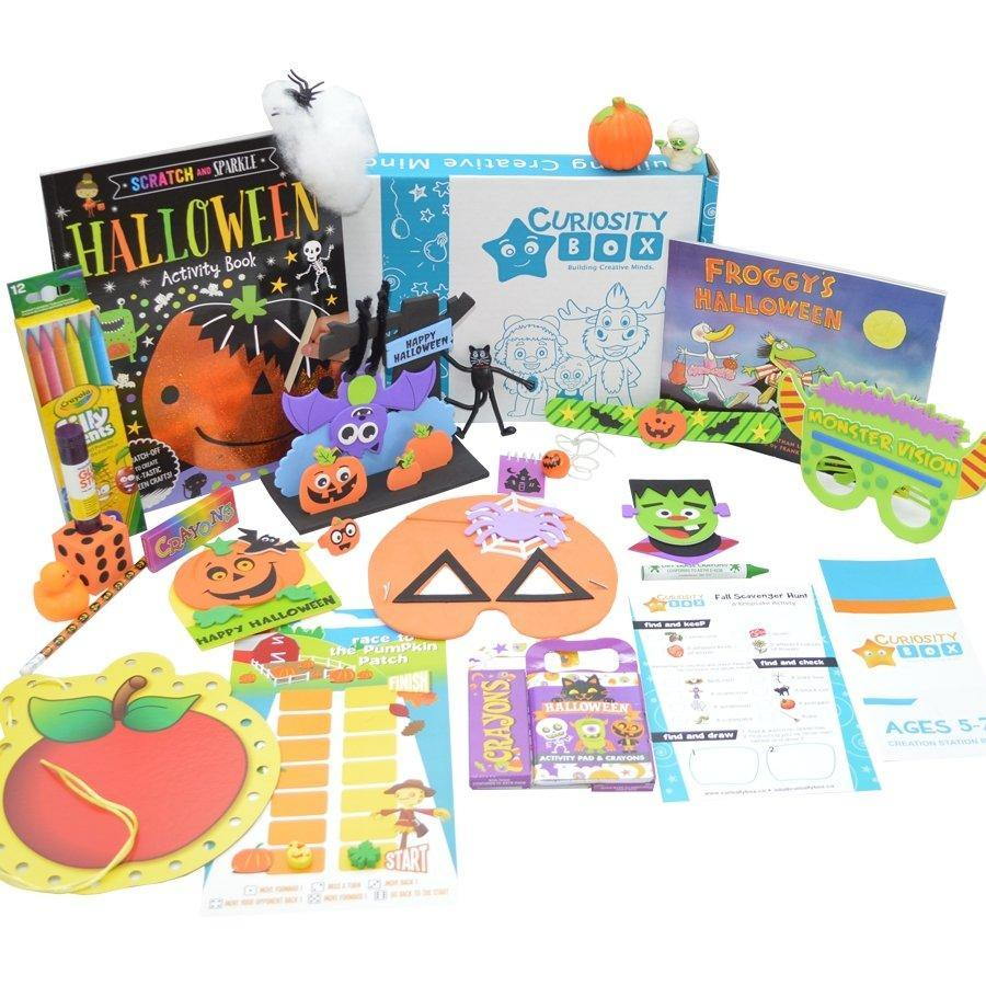 Kids Extreme Crafting and Educational Quarterly Subscription Box Plan- Curiosity-Box-Craft-and-Educational-Boxes-Kids-Monthly-Subscription-Box