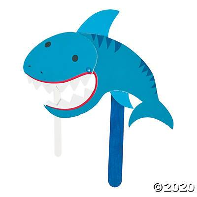 Shark Attack Craft Kit Ages 5-7- Curiosity-Box-Craft-and-Educational-Boxes-Kids-Monthly-Subscription-Box