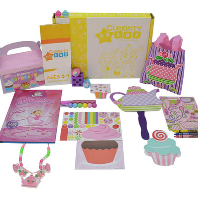 Sweet Crafty Treats Craft Box for Ages 2-4- Curiosity-Box-Craft-and-Educational-Boxes-Kids-Monthly-Subscription-Box