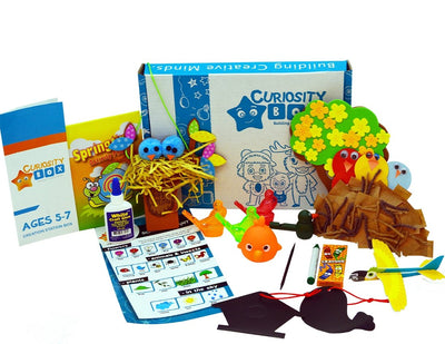 Tweet Tweet Craft Box for Ages 5-7- Curiosity-Box-Craft-and-Educational-Boxes-Kids-Monthly-Subscription-Box