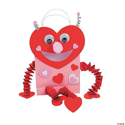 Valentine Love XOXO Craft Box for Ages 5-7- Curiosity-Box-Craft-and-Educational-Boxes-Kids-Monthly-Subscription-Box