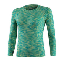 Fitness Long Sleeves Compression Crossfit Workout Top