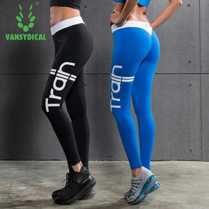 Train Quote Crossfit Bodybuilding Compression Tights