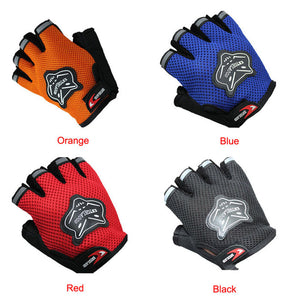 4 Color Weight lifting Summer Half Finger Gloves Anti scratch Soft Comfortable Gloves Men#L1