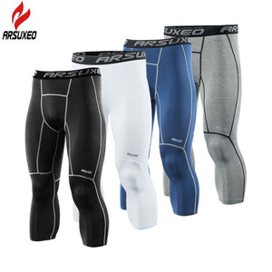 Trendy Crossfit Bodybuilding Compression Tights