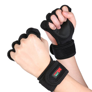 Crop Backhand Professional Sports Gloves