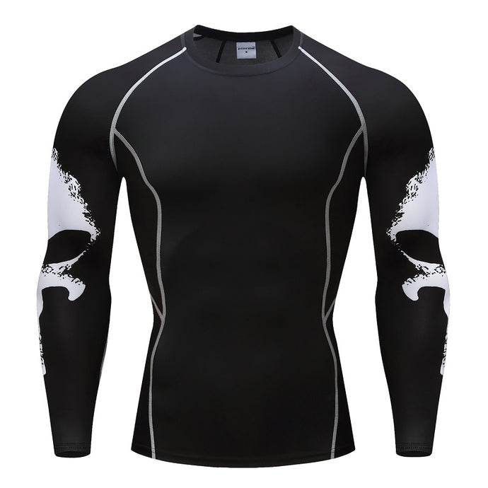 Punisher Compression Crossfit Workout Top