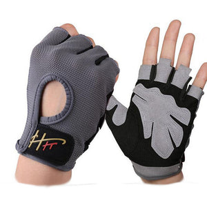 Anti-Slip Half Finger weight-lifting Gloves