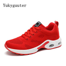 Breathable Solid Color Running Shoes