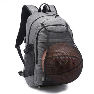 Gym Backpack with Ball Storage