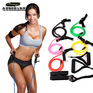 Colourful Multifunctional Exercise Bands
