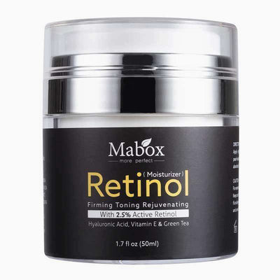 Bulk 25% off Discount! Mabox Retinol 2.5% Moisturizer Face Cream  - 3 Bottles