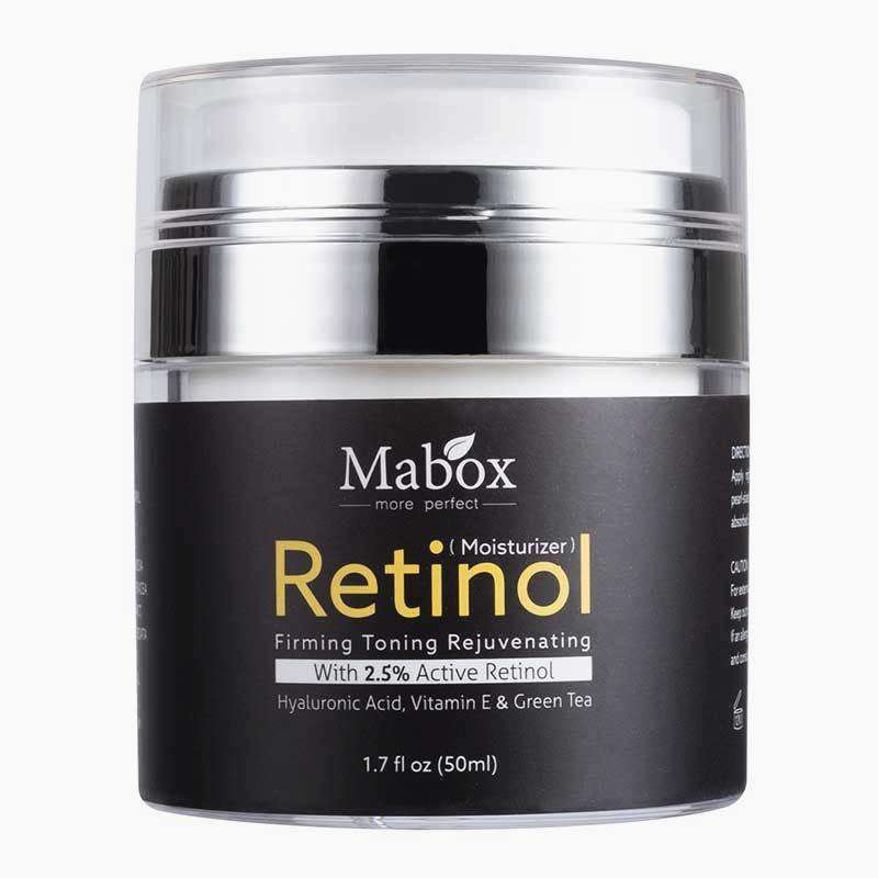 Bulk Discount! Mabox Retinol 2.5% Moisturizer Face Cream  - Buy 3 to 6 Month Supply and Save!