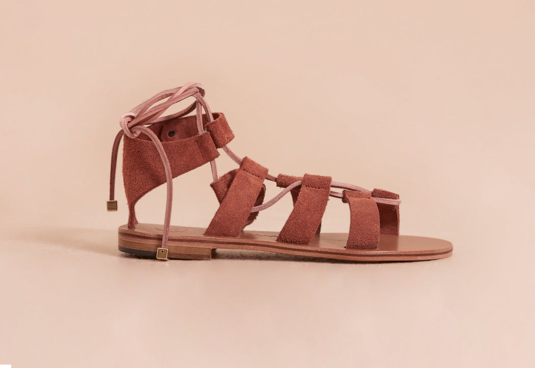 Agrippina Suede Rose