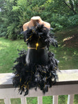Fancy Bride Centerpiece | Mannequin | Dress Form | Feathers | Bridal Shower Decor | Wedding Decor