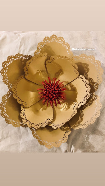 SVG Flower Template 3 for DIY Paper Flowers & Flower Templates