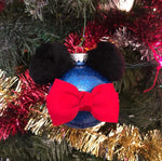 Inspired Mickey Mouse Christmas Ornaments - Set of 4