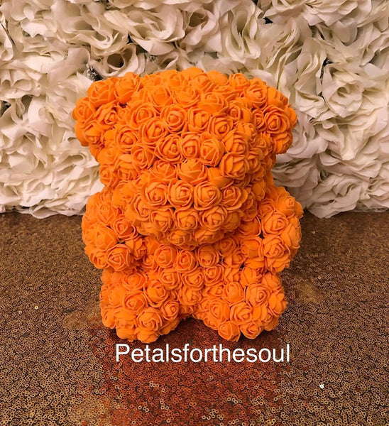 Baby Forever Rose Bear | Teddy Bear Made of Roses | Engagement Gift | Birthday Gift | Get Well Gift | Newborn Gift