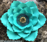PDF Flower Template 4 for DIY Paper Flowers & Flower Templates