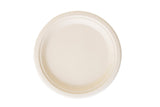 Compostable Bagasse Paper Plates - 9 Inch Size - 600 Counts - FirstChoice EcoNaturals