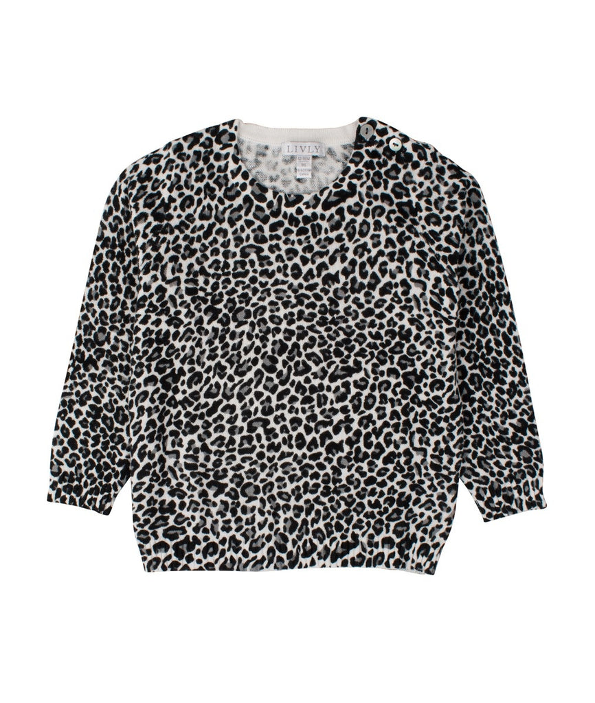 LEOPARD SWEATER - HoneyMustard