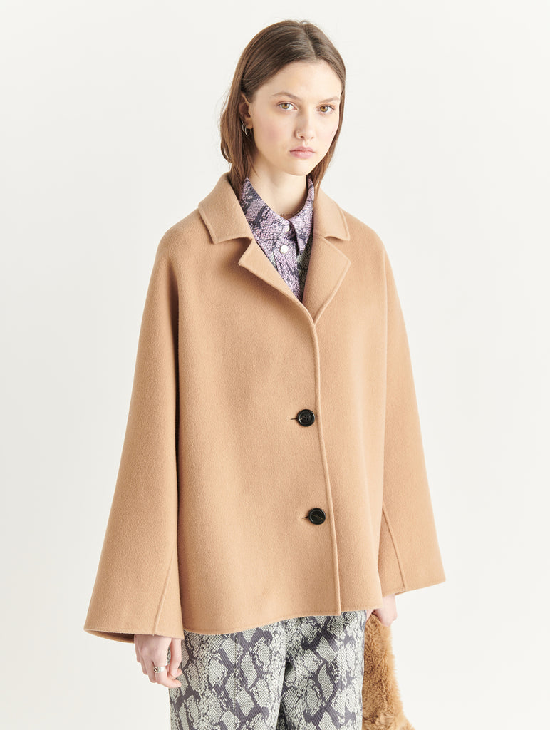 ANTONIA JACKET WOOL BLEND - HoneyMustard