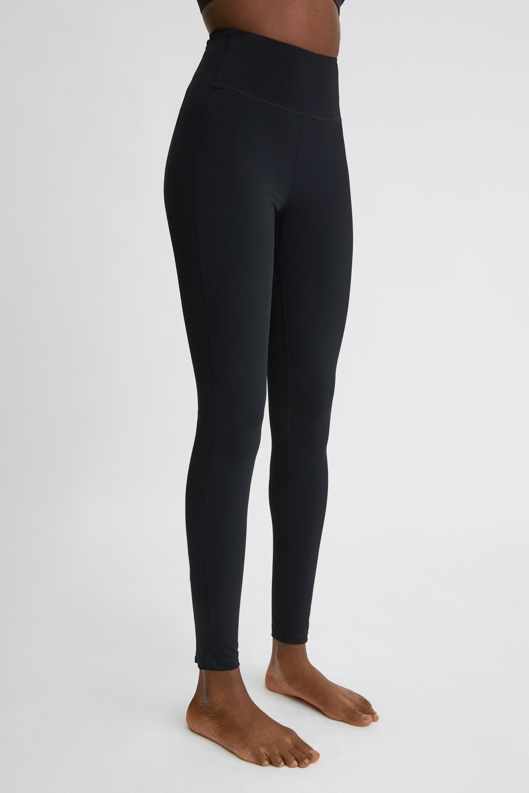 Compression Zip Legging - HoneyMustard