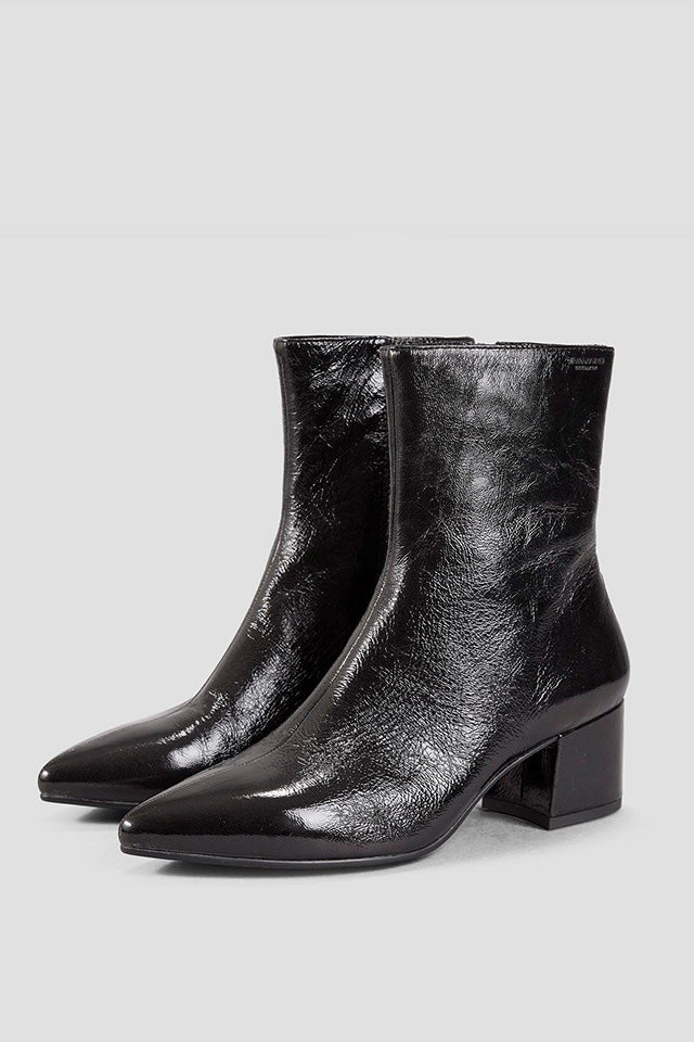 MYA BLACK PATENT LEATHER BOOTS 4619-060-20 - VITRIN concept store