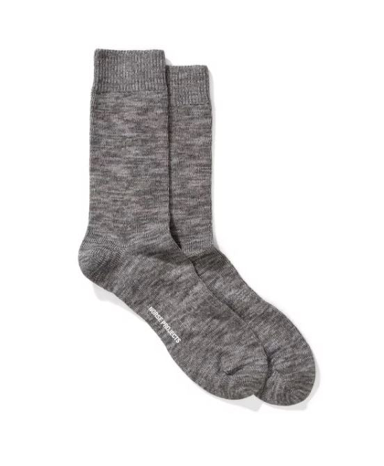 BJARKI BLEND SOCKS - HoneyMustard