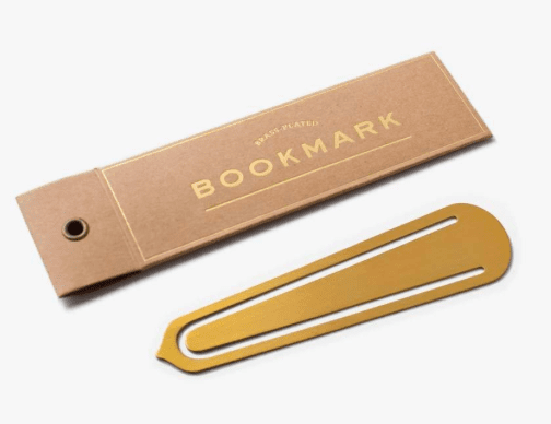 BLANK BRASS BOOKMARKS