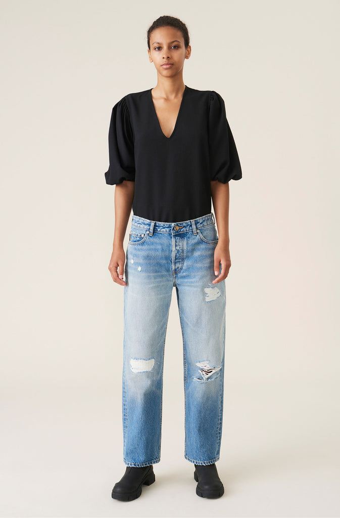 GANNI RELAXED FIT JEANS