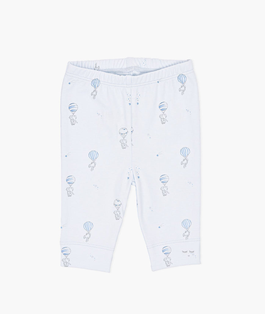 FLYING ELEPHANTS LEGGING BLUE