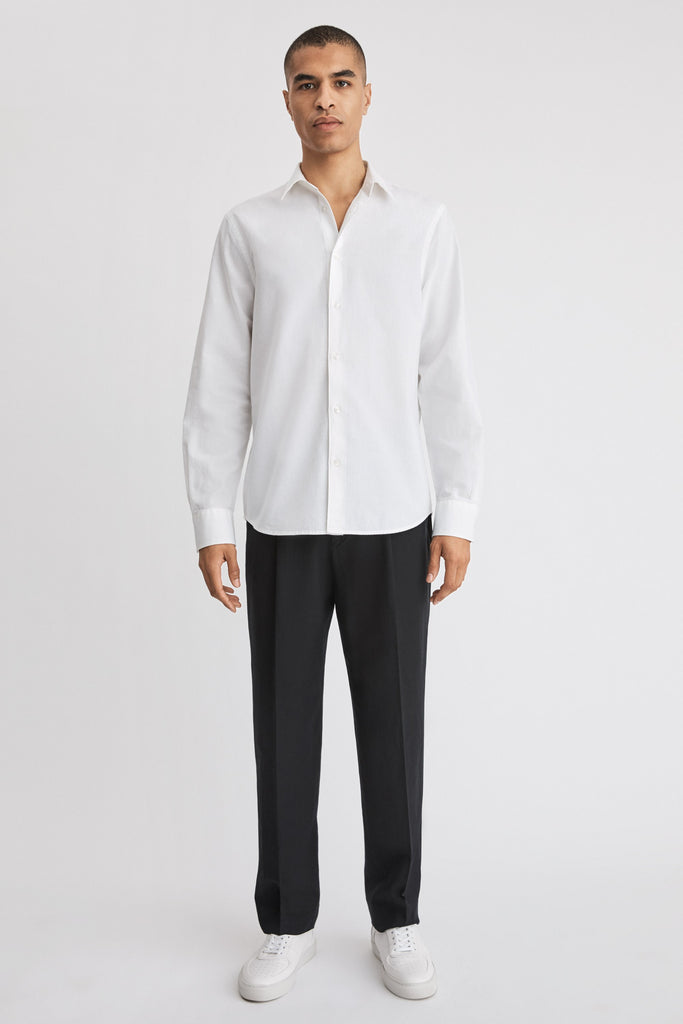 LEWIS LINEN SHIRT - HoneyMustard