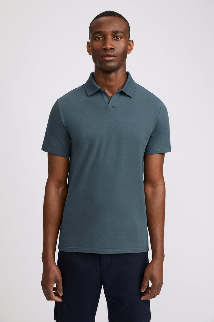 LYCRA POLO T-SHIRT - HoneyMustard