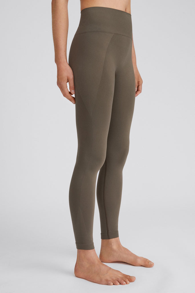 HIGH SEAMLESS LEGGING - HoneyMustard