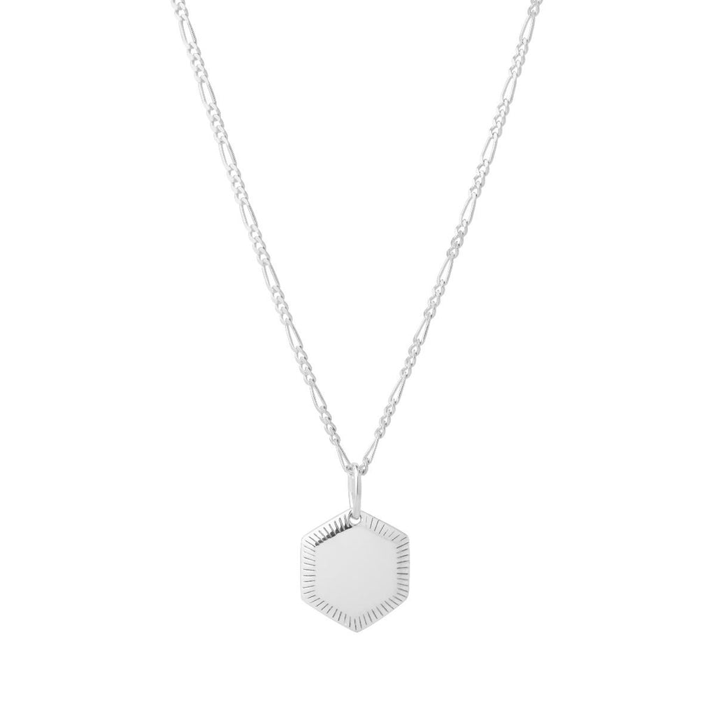 MARIA BALCK - KIM NECKLACE - SILVER - HoneyMustard