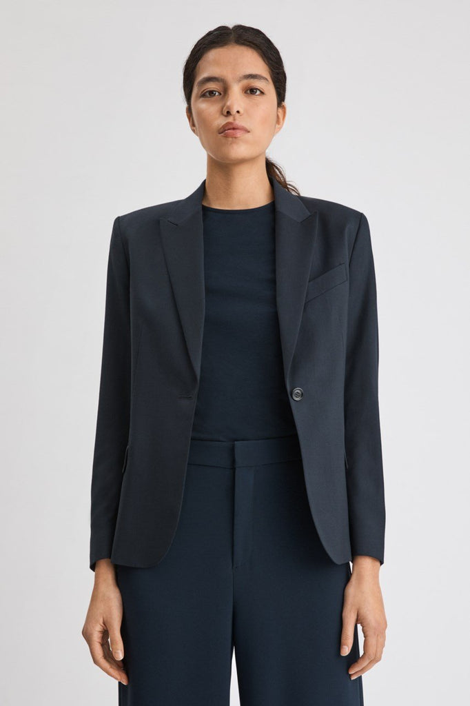 SASHA COOL WOOL BLAZER - HoneyMustard