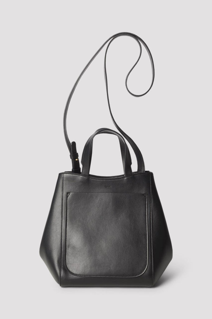 SHELBY MINI BUCKET LEATHER BAG - HoneyMustard