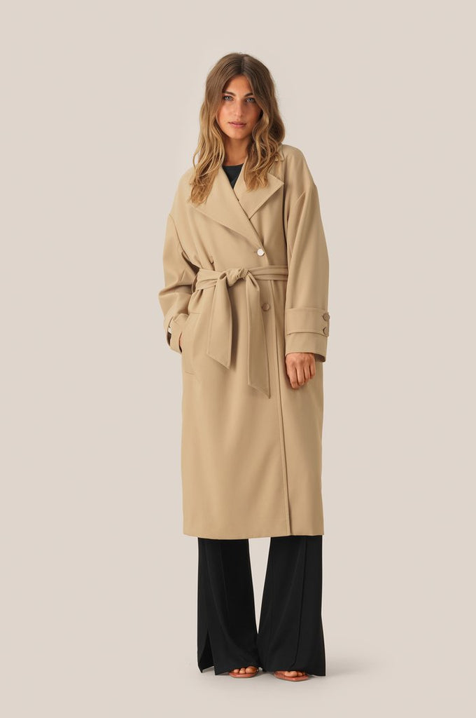 SILVIA TRENCH COAT - HoneyMustard