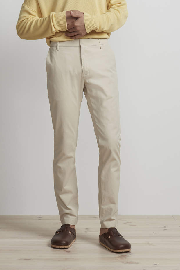 THEO REGULAR FIT CHINO - HoneyMustard