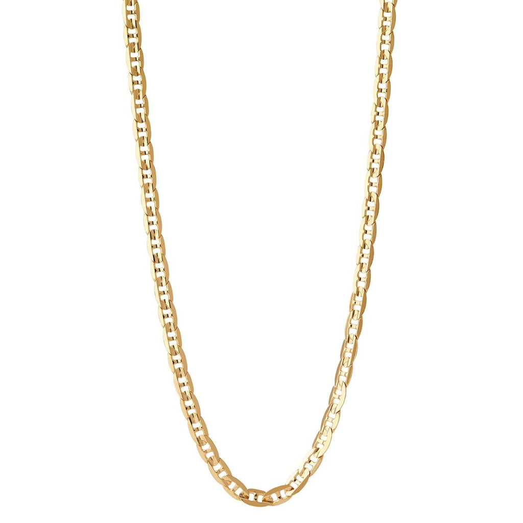 CARLO NECKLACE 50CM - HoneyMustard