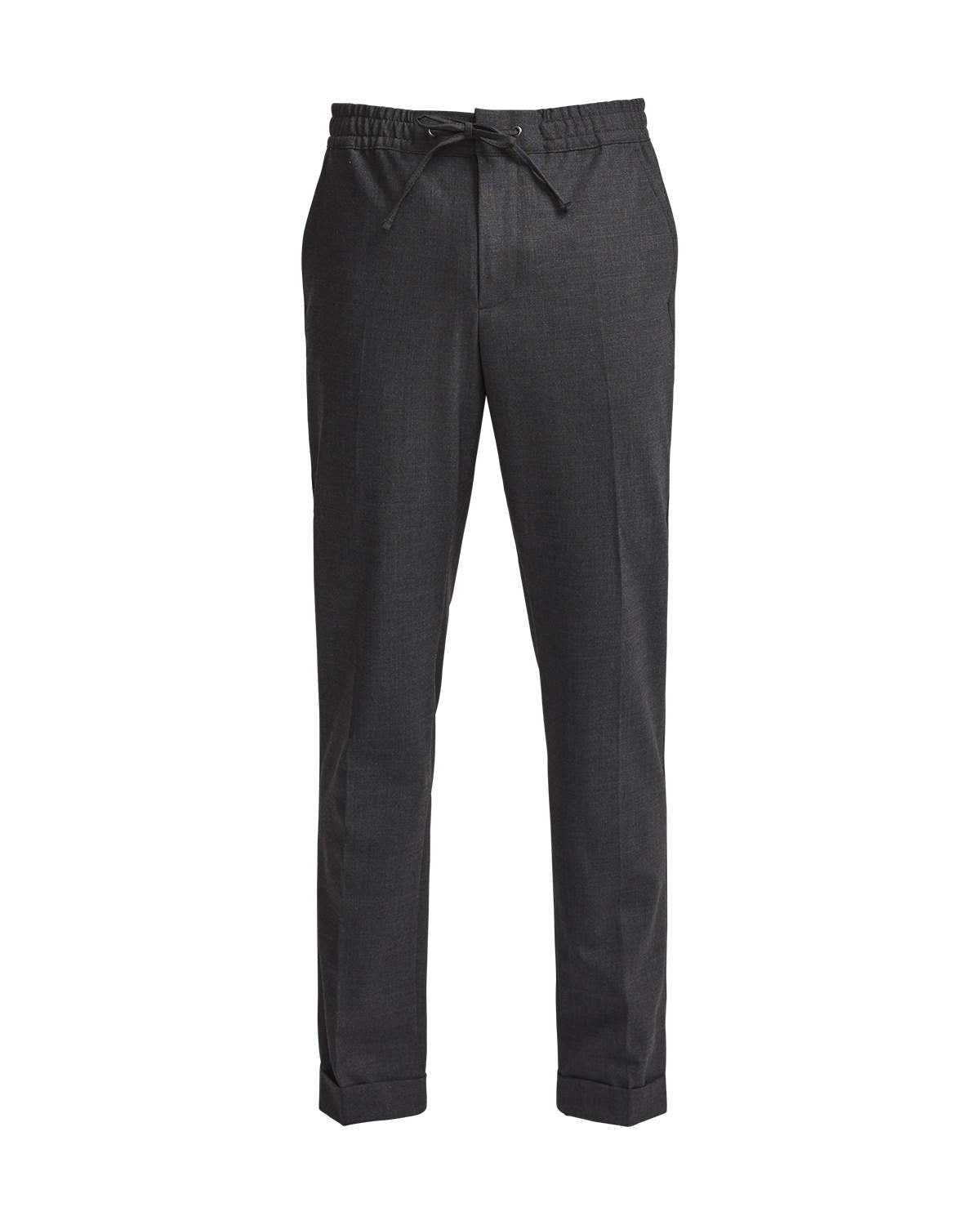 SEBASTIAN 1325 WOOL POLYESTER DRAWSTRING TROUSERS - HoneyMustard