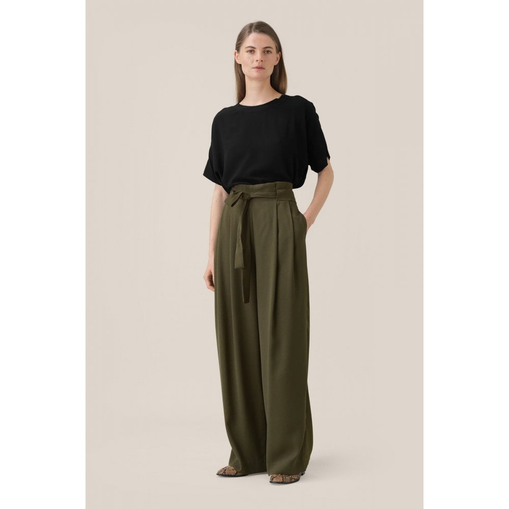 Yasemin Long Trousers - HoneyMustard