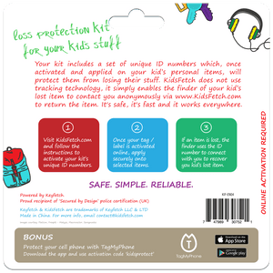KidsFetch Protection Pack