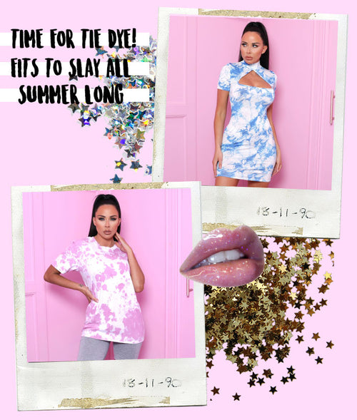 Time For Tie Dye! 4 Summer Fits To Slay All This Season