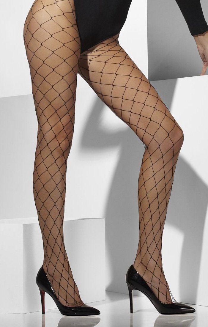 Black Diamond Fishnet Tights