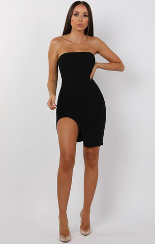 Black Bandeau Dresses